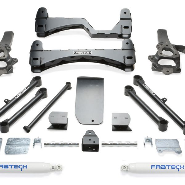 Fabtech 6 inch Lift Kit for Ram/Dodge 1500 4WD(2013-2016)